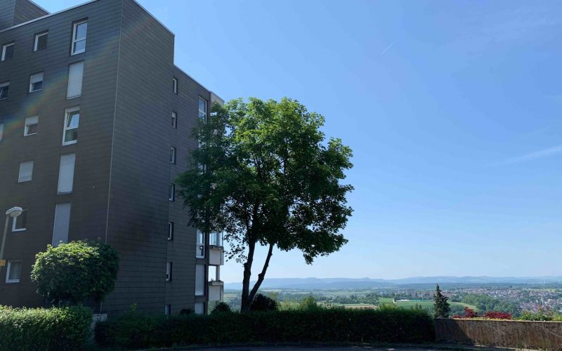 2-Zimmer-Wohnung mit Aussichtsbalkon und TG-Stellplatz