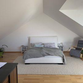 Schlafzimmer mit Gaube