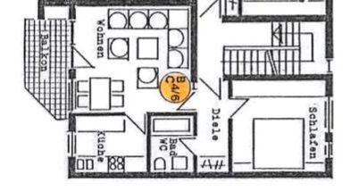 Helle 2-Zi-Wohnung mit Balkon und Garage / FREI