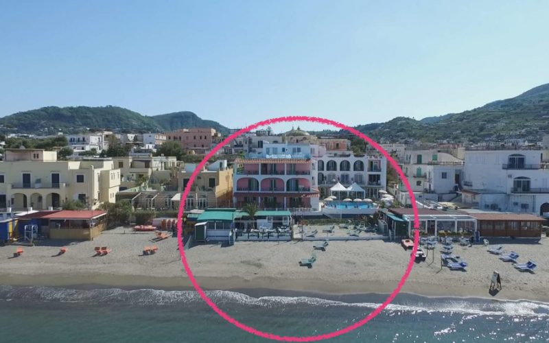 Hotel Solemar Terme****/ eigener Strand / Pools und Thermalbad / Spa / Restaurant