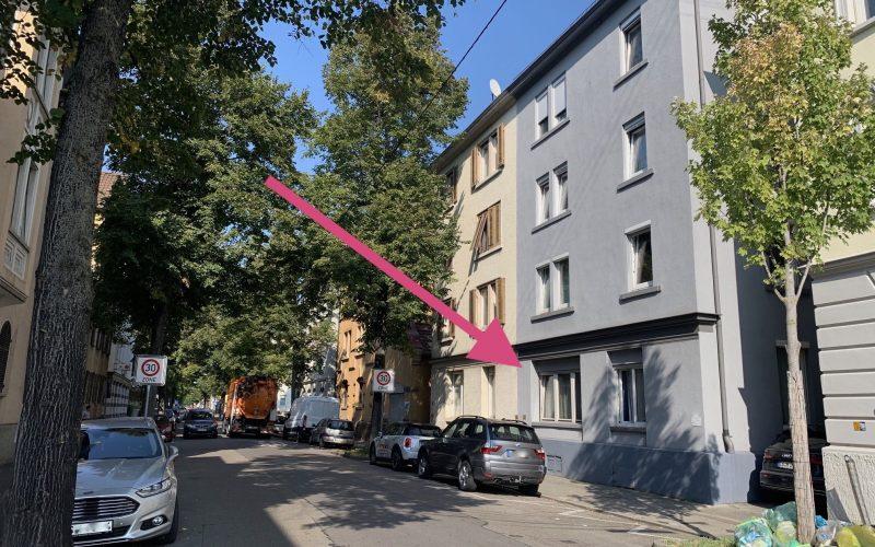 3-Zi-Wohnung mit Balkon, Erdgeschoss, FREI