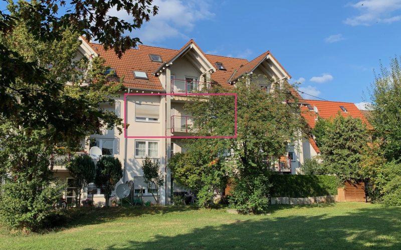 Zentrale, ruhige 3-Zi-Wohnung, großer Balkon, Garage, FREI