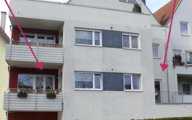 3,5-Zimmer-Wohnung  / 2 Balkone / EBK / TG-Stpl.