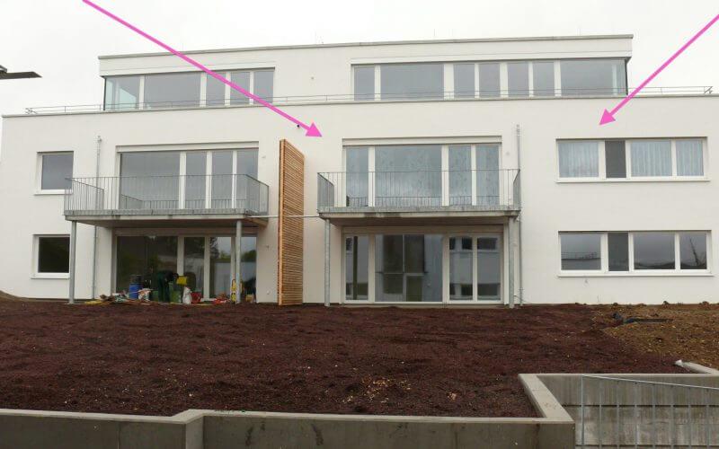 4-Zi-Hochparterre-Wohnung mit Balkon und extrabreitem TG-Stellplatz