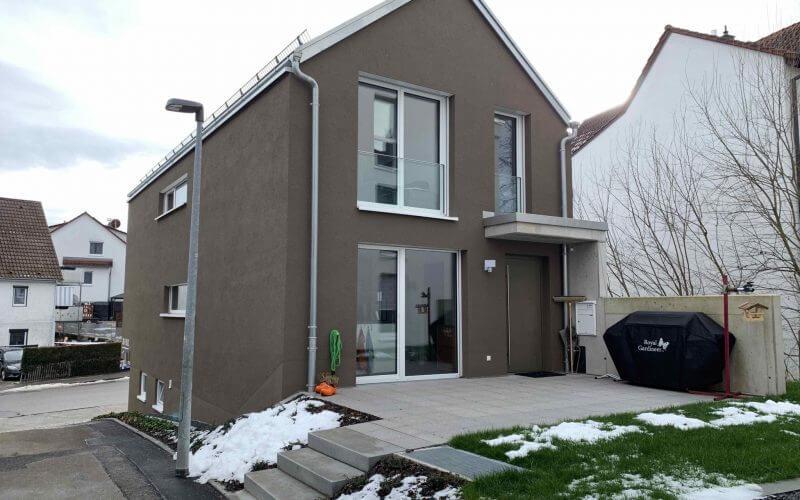 Einfamilienhaus an junge Familie vermietet