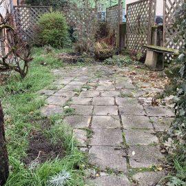 der Vorgarten in Südlage