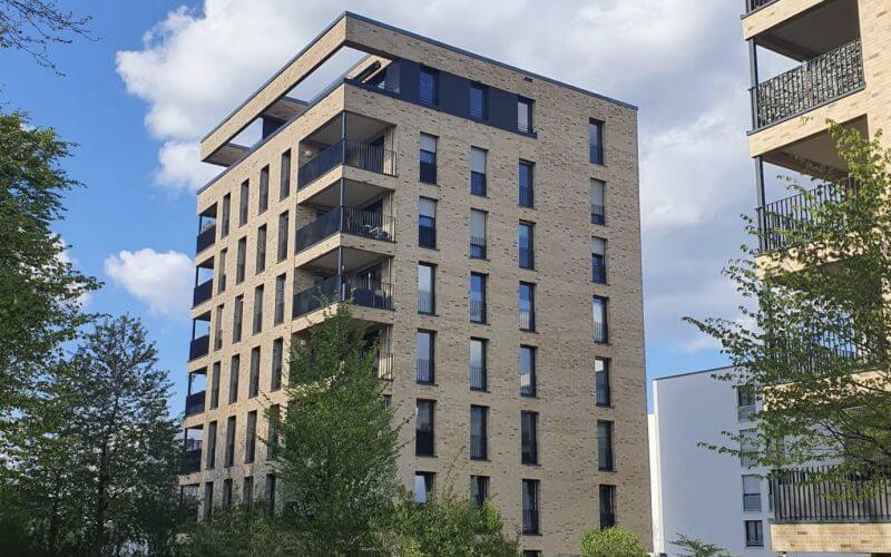 3-Zi-Penthouse-Wohnung mit großer Dachterrasse vermietet