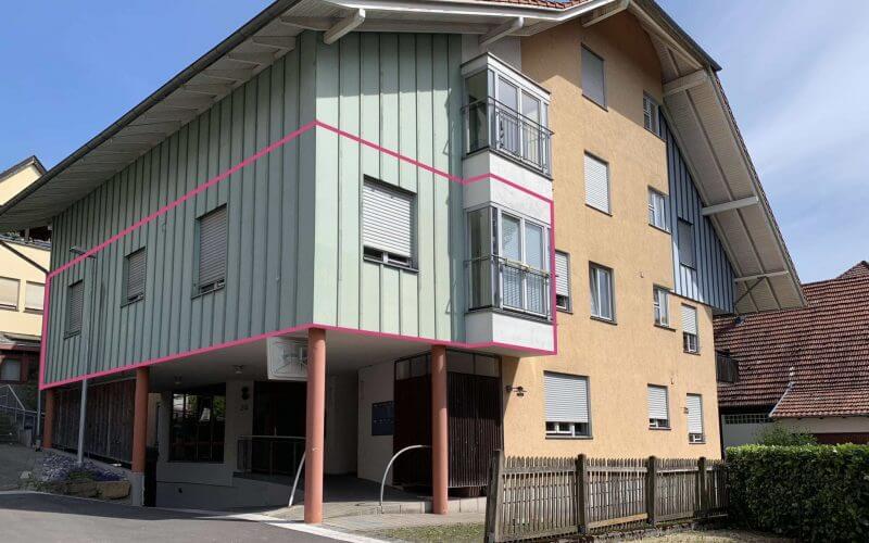 Helle, großzügige 2-Zi-Wohnung / barrierefrei / ruhig und zentral